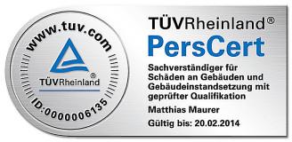 TÜVRheinland PersCert., Matthias Maurer