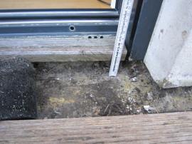Wassereintritt Dachterrasse, Bausachverständiger